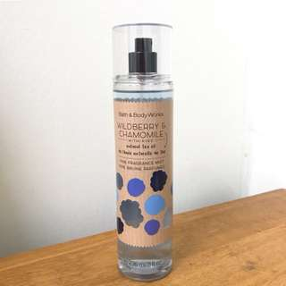 (REDUCED) Bath and Body Works Fine Fragrance Mist (Wildberry & Chamomile)