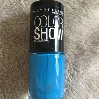 Maybelline Nail Polish in Babe It's Blue