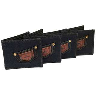 Dompet dari bahan Levis Merk Levis Logo acak