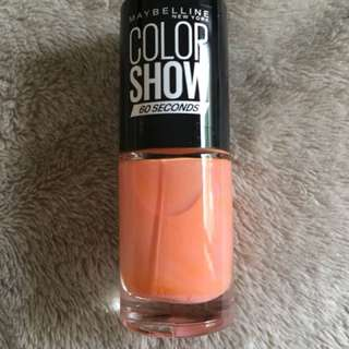 Maybelline Nail Polish in Canal Street Coral