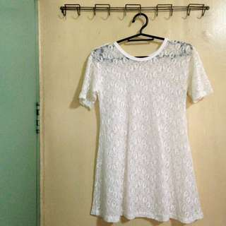 (Forever 21) Lace Top