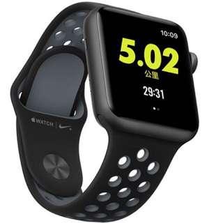 Apple iwatch Series 2 Nike+ 42mm 95%新 無配件