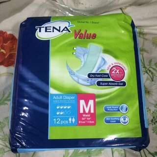 Adult Pampers Tena M Size (5 Bags)