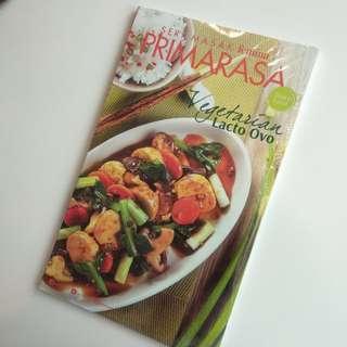 Buku Memasak - Vegetarian Lacto Ovo
