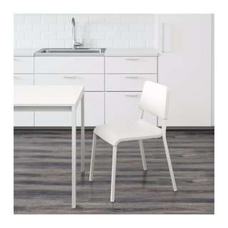 IKEA TEODORES Kursi serbaguna, warna putih ukuran 46x54x80 cm