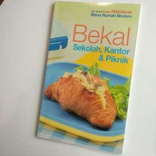 Buku Memasak - Bekal Sekolah, Kantor & Piknik