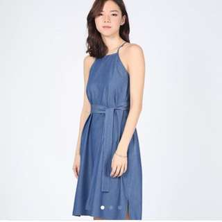 BNWT Love Bonito Denim Dress XS