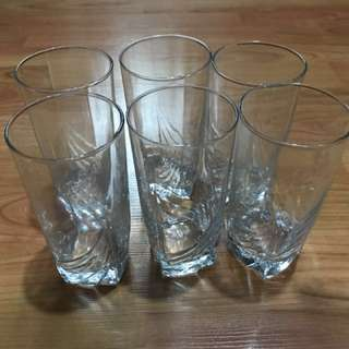 Glasses (set of 6)