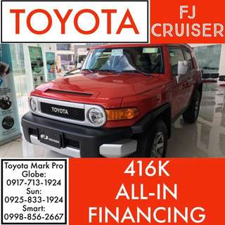 2018 Brand New Fresh Toyota FJ CRUISER AT ALL-IN Cash Out Wigo Vios Altis Hilux Innova Avanza Camry Hiace Fortuner