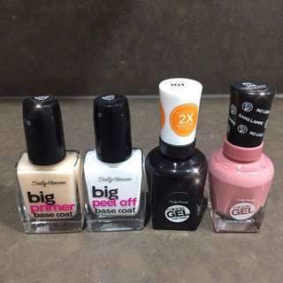 Sally Hansen Gel Nails set