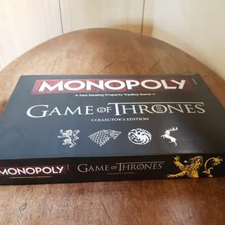 SALE! NEW Monopoly Game of Thrones Collector's Edition