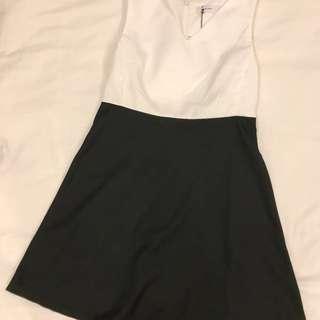 Starmimi全新黑白配色洋裝