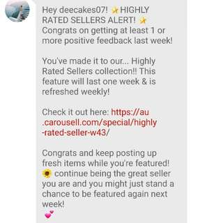 Highly Rated!! Thank you 💗💗💗