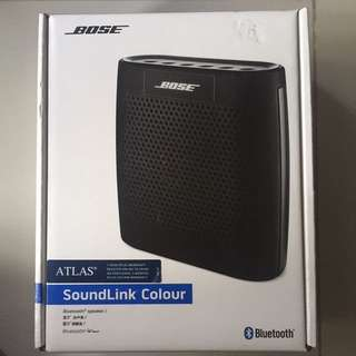 Brand New Authentic Bose Bluetooth Speaker SoundLink Colour