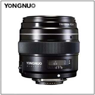 Yongnuo YN 100mm f/2 Lens for Nikon F DSLR