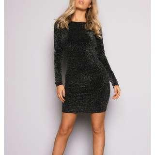 New H&M Little Black Body Con Dress