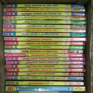 Geronimo Stilton and Thea Stilton books