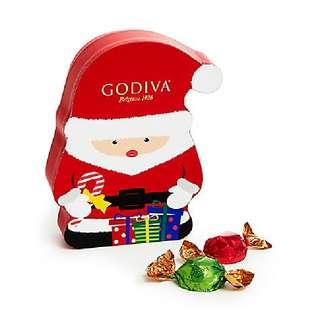 Godiva聖誕老人松露朱古力盒