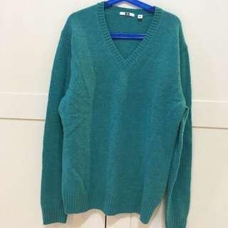 Uniqlo 夢幻湖水綠羊毛衫