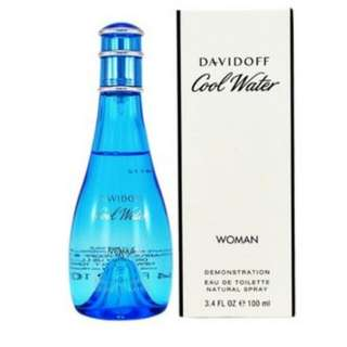 Davidoff Coolwater For Woment 100 ml Tester Authentic Perfume.👌👌👌