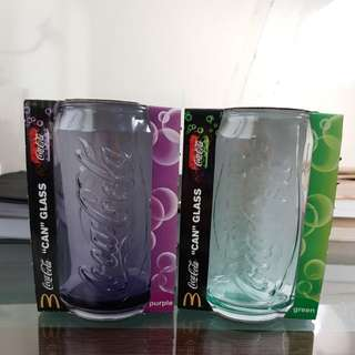 Coca cola 'can' glass (limited edition)