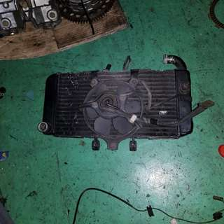 Used Honda CB400 Radiator Assy With Fan