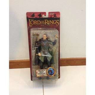LOTR Lord of The Rings Helm's Deep Legolas TTT MOSC. What you see is what you get.
