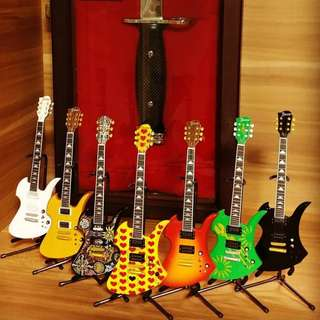 Complete Hide Guitar Collection