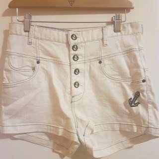 Zara TRF high waist shorts
