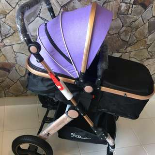 Premium highview stroller