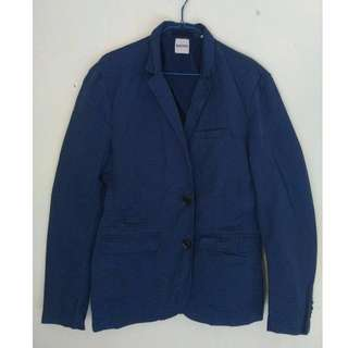 "Blazer Casual Navy Blue by ""Kiomi"""