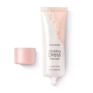 Brand new wedding dress facial cream