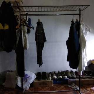 Rak baju gantungan / Gawang baju + Manekin pria