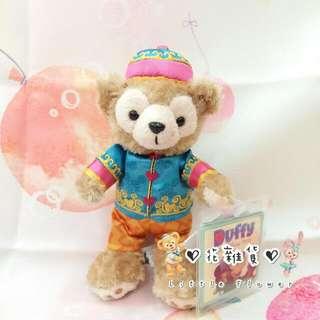 ♡ 花雜貨 ♡ 香港迪士尼限定 絕版 生肖猴 達菲Duffy 站姿鑰匙圈吊飾