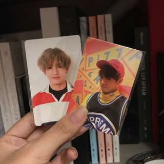 WTT BTS LOVE YOURSELF PHOTOCARD