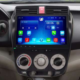 """Android 10.2"""", multimedia player for HONDA CITY 2008-2014"""