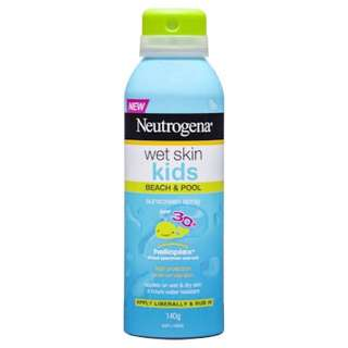 Neutrogena Wet Skin Kids Sun Spray SPF30+