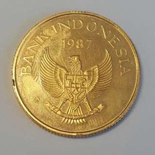 Uang Emas 1987