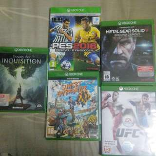 🚚 Xbox one games