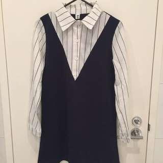 Korean One piece dress