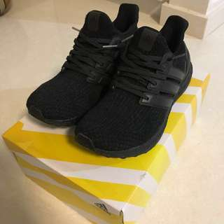 Ultraboost 3.0 Triple black first version US9