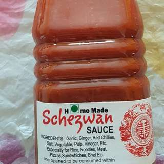 Home Made Schezwan Sauce