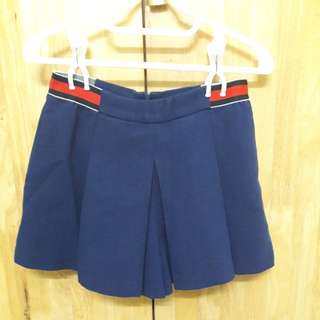 Blue Skorts Shorts Pants