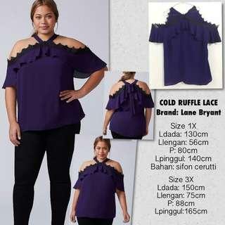 Brand Lane Bryant atasan big size import #Branded
