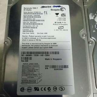 IDE Harddisk 80GB2個