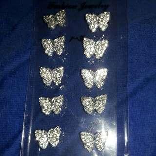 Butterfly mini bross