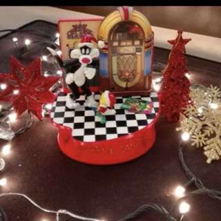 Vintage Christmas Musical Box