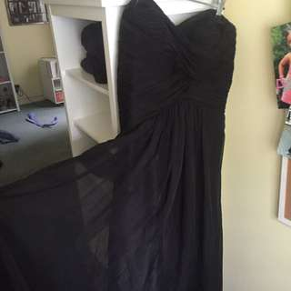 Selling deb dress worn once