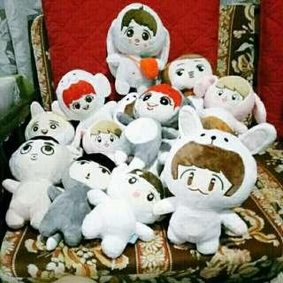 On-hand 23cm EXO Dolls