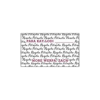 Personalized Gift Tags - Millenial Petmalu Regalu